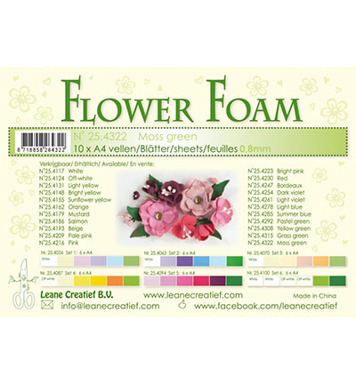 Leane Creatief - Flower Foam - Moss Green