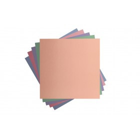 Cricut - Foil Poster Board - Pastel  Sampler - 12 in.x12 in. (10pcs)