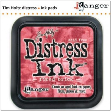 Distress Inkt    Fired Brick   (Ranger) Mini