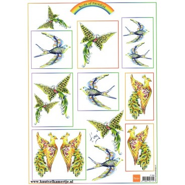 Birds of Paradise  Marianne Design
