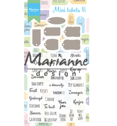 Marianne Design - Mini labels NL
