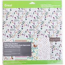 Cricut Cricut Washi Sheets Woodland 12x12 Inch