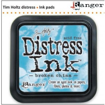 Distress Inkt  Broken China   (Ranger) Mini