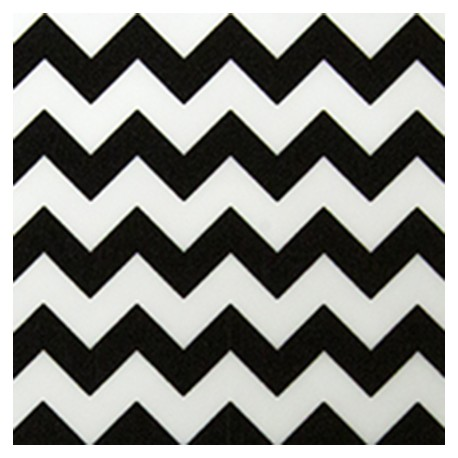 Flexfolie Chemica Big Black Chevron