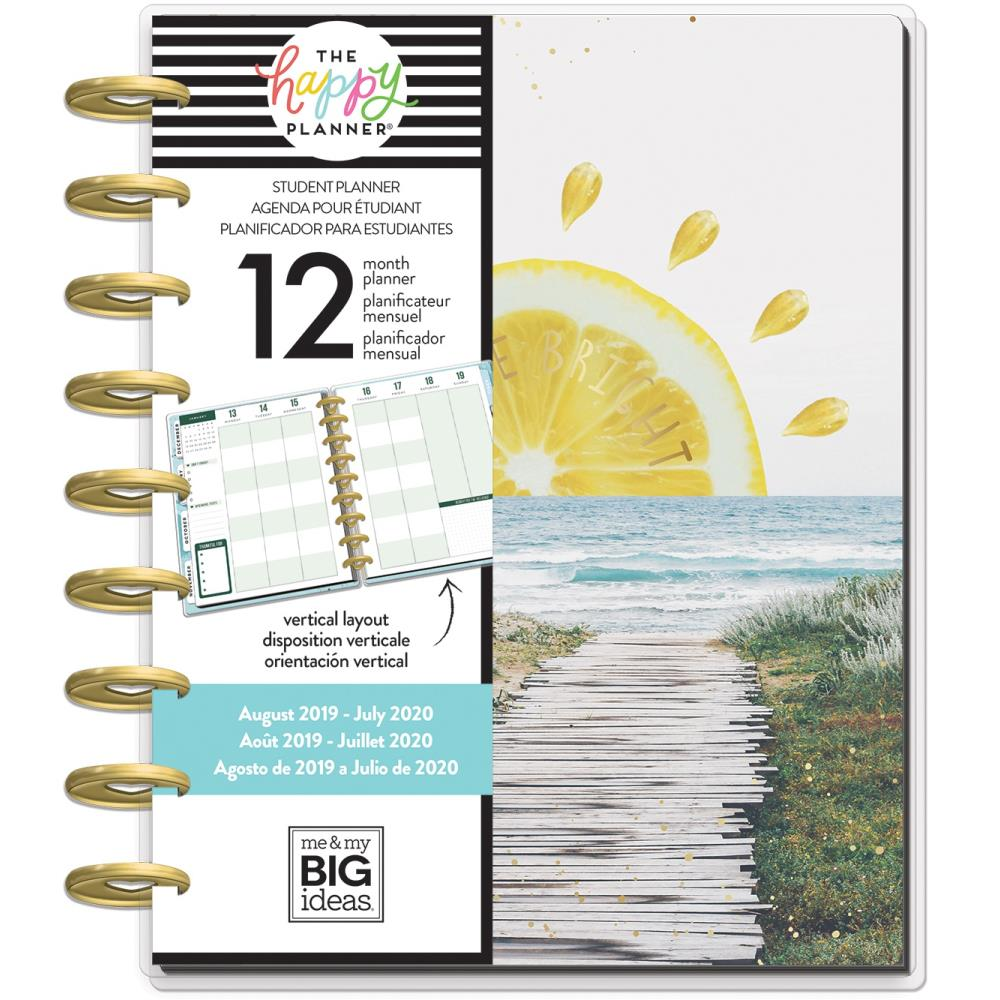 Happy Planner 12-Month Dated Medium Planner 7.75