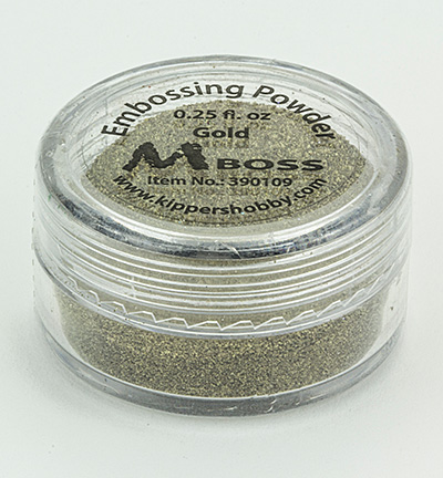 Mboss embossing powder Gold