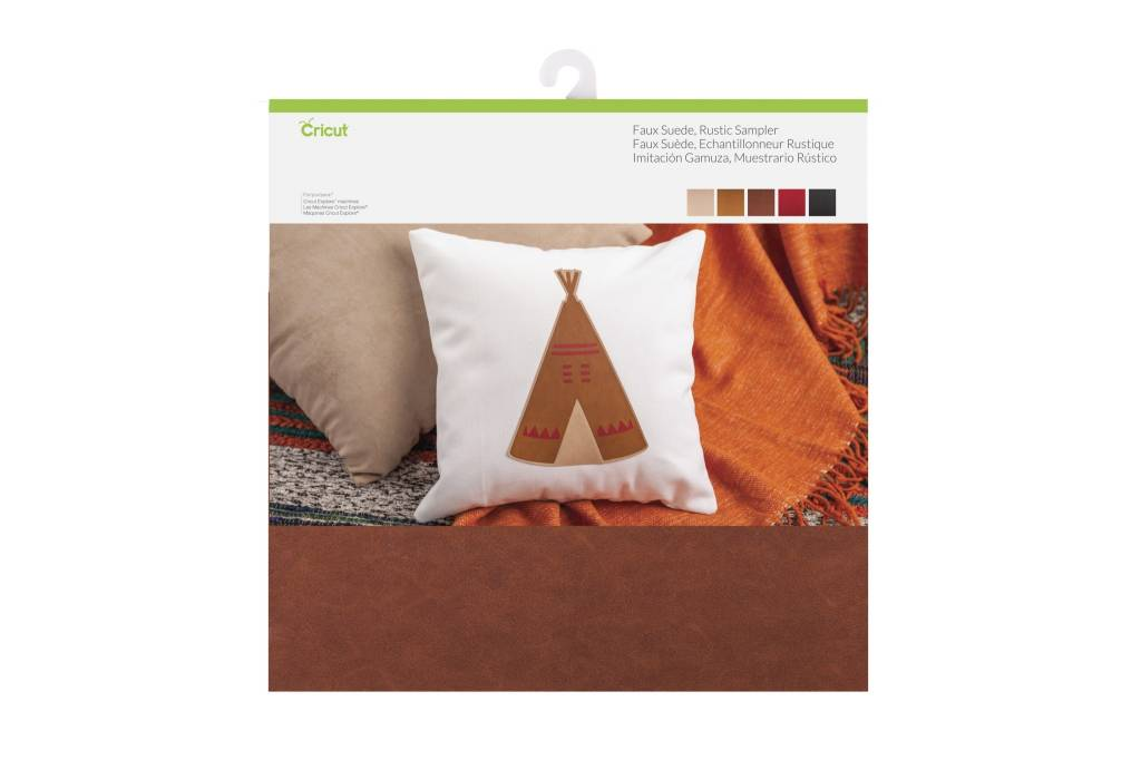 Cricut - Faux Suede - Rustic Sampler - 12 in.x12 in. (5pcs)