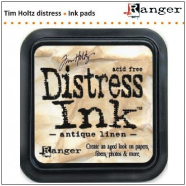 Antique Linen  Distress Inkt  (Ranger) Mini
