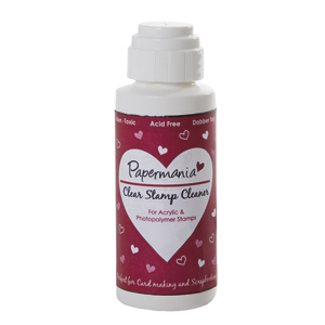 Clearstamp cleaner  Papermania