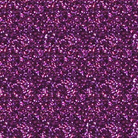 Purple Glitter flexfolie (grof)