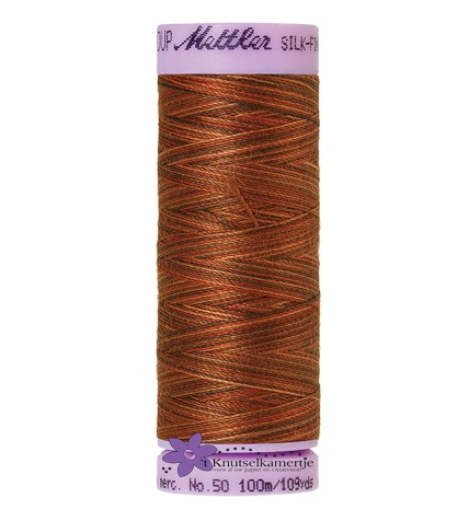 Kleurnr. 9852 Gemeleerd Silk Finish Multi