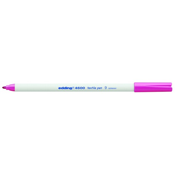 Textielstift Edding Roze