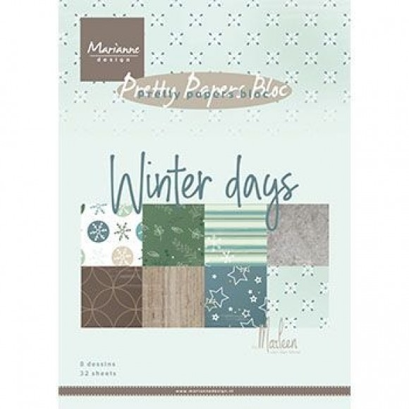 Marianne Design  Bloc winter days by Marleen