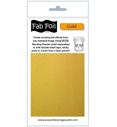 Fabulous Foil Bright Gold