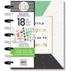 The Happy Planner - Classic Planner -  Budget Money - 18 Month Dated Planner