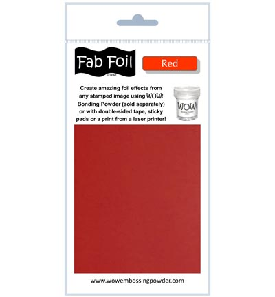 Fabulous Foil Red