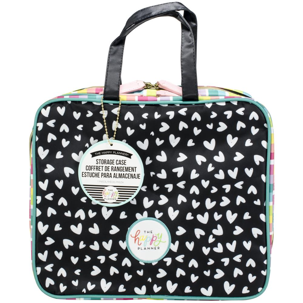 The Happy Planner - Storage Case - Scattered Hearts -  1pcs