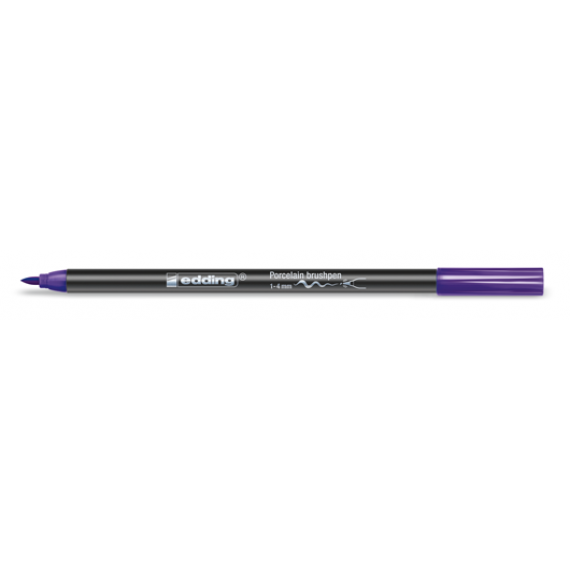 Porseleinstift Edding Purple