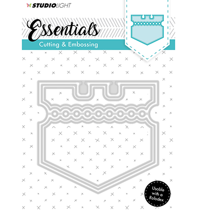 Essentials Embossing Die Cut Stencil Nr121