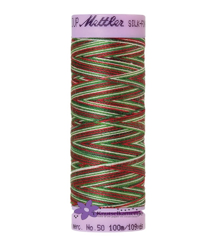 Kleurnr. 9825 Gemeleerd Silk Finish Multi