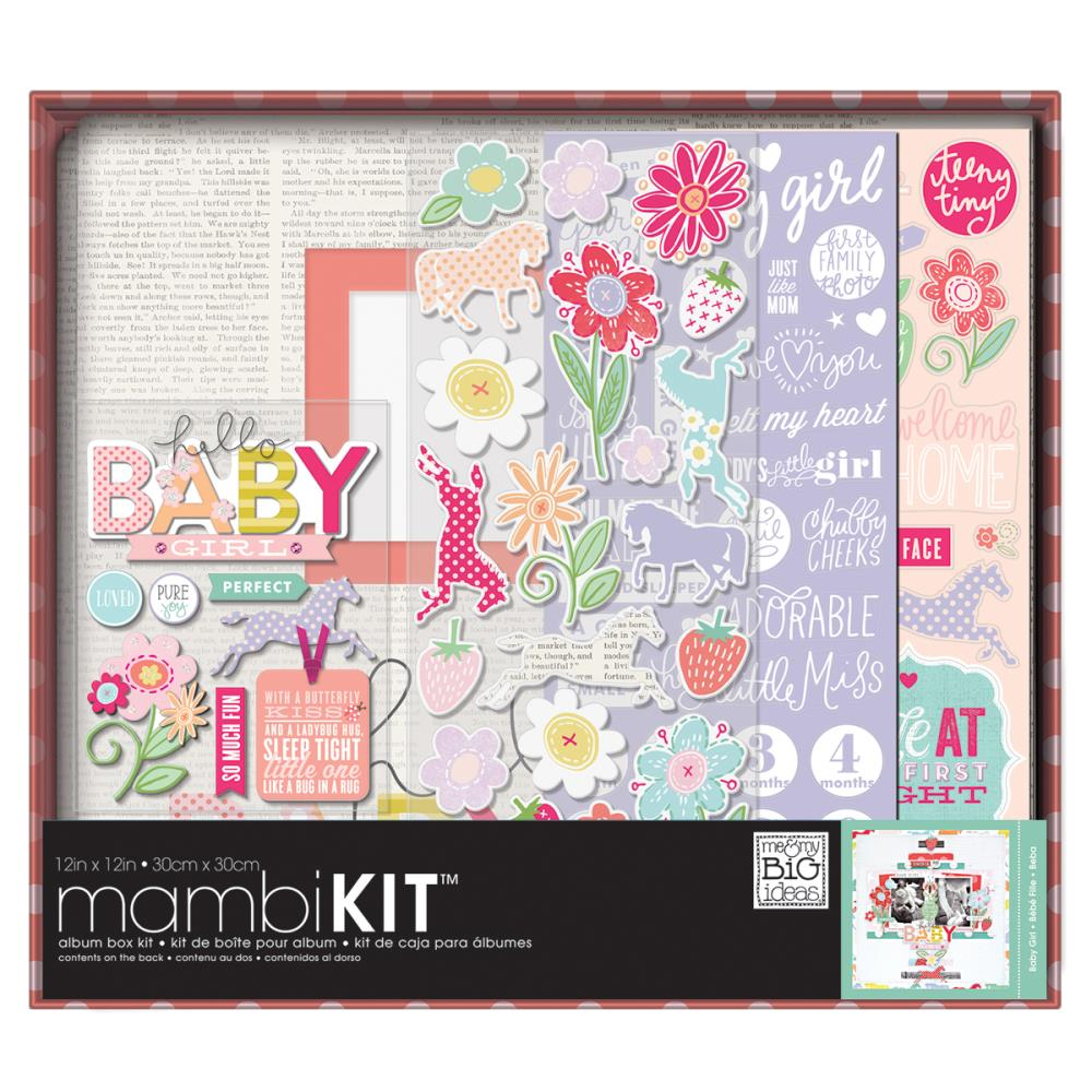 The Happy Planner Boxed Album Kit - Baby Girl - 12