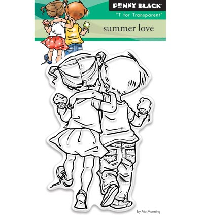 Penny Black Summer Love