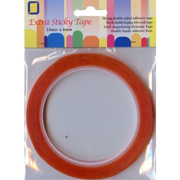 Extra Sticky Tape 6 mm x 10 mtr