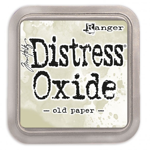 Tim Holtz distress oxide old paper