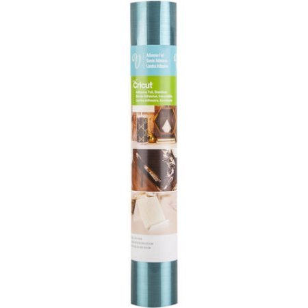 Cricut - Adhesive Foil - Stainless Teal - 12 in.x48 in. (1pcs)
