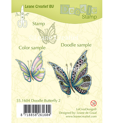 Doodle Stamp - Butterfly 2