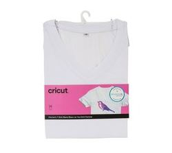 Cricut V-Neck T-Shirt Blank XL