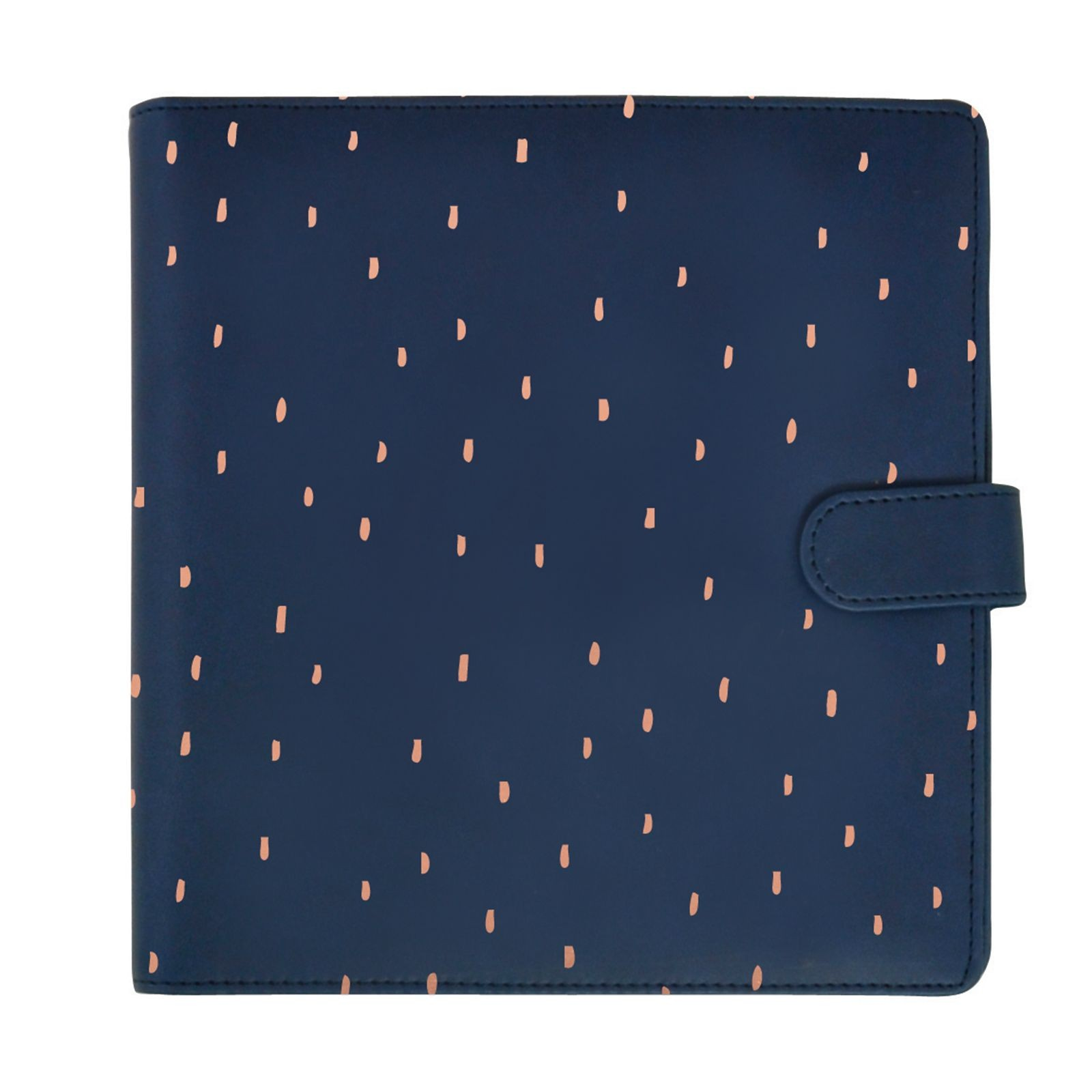 Kaisercraft planner NAVY with rose gold foil accents - (met inhoud)