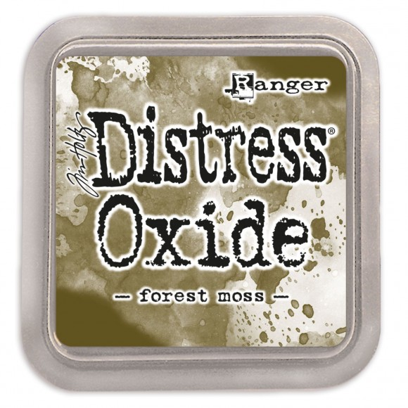 Tim Holtz distress oxide forest moss