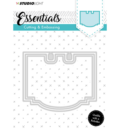 Essentials Embossing Die Cut Stencil Nr120