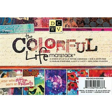 Colorful Life Matstack Papier