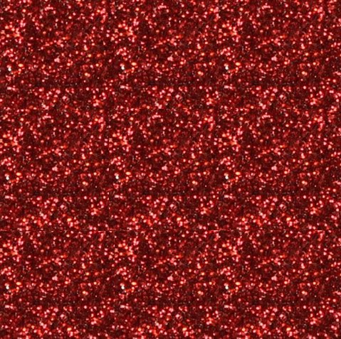 Red Glitter flexfolie (grof)
