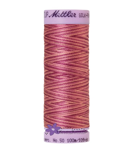 Kleurnr. 9839 Gemeleerd Silk Finish Multi