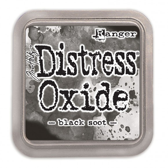 Tim Holtz distress oxide black soot