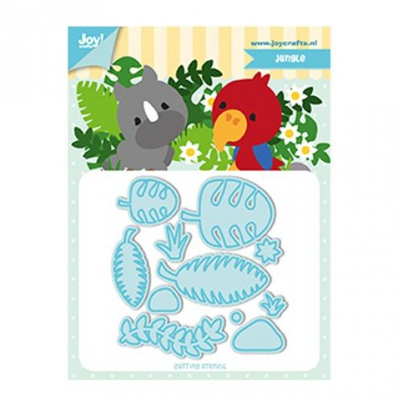 Joy!Crafts snijstencil Jocelijne TF jungle