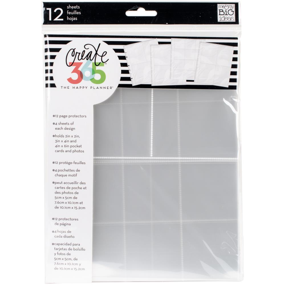 The Happy Planner - Page protectors - 12 pcs