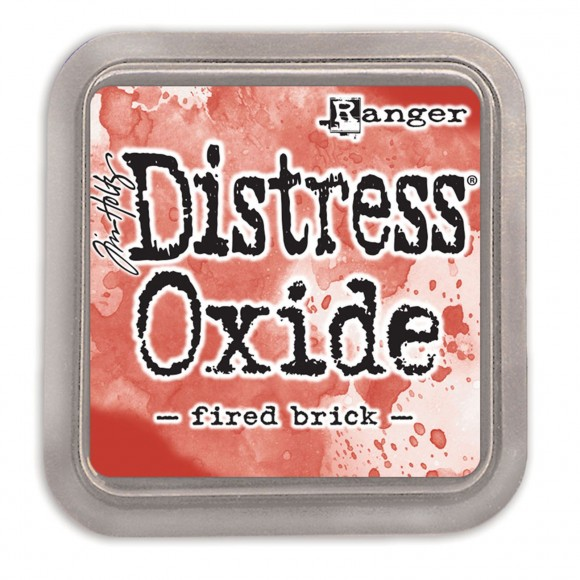 Tim Holtz distress oxide fired brick