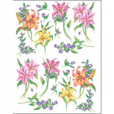 Lilies To-Do Soft-Paper