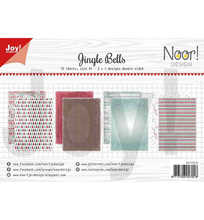 Papierset - Design Jingle bells