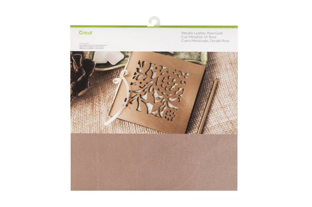 Cricut - Metallic Leather - Rose Gold - 12 in.x12 in. (1pcs)