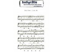 Sheet Music Mounted