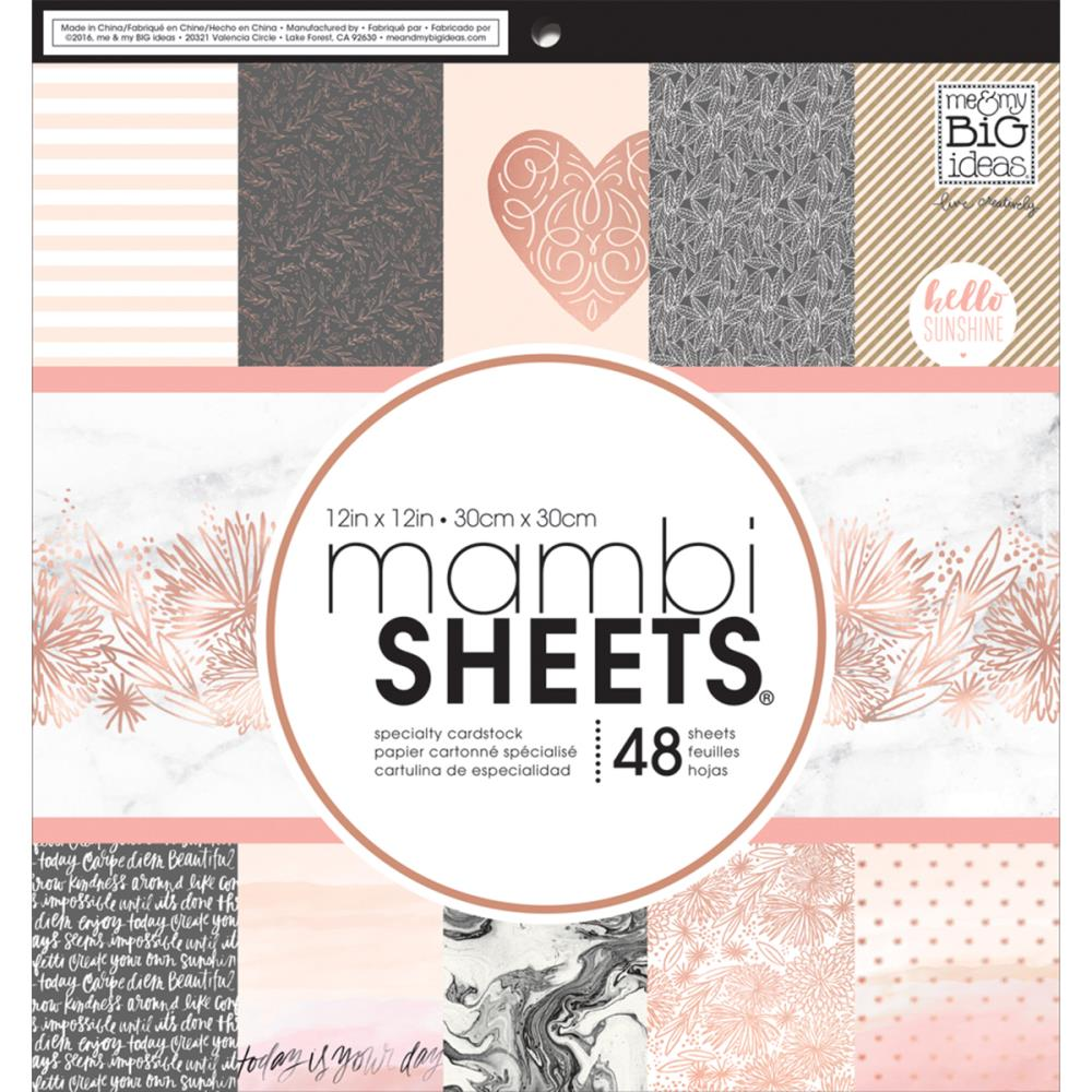 Mambi Single-Sided Paper Pad 12