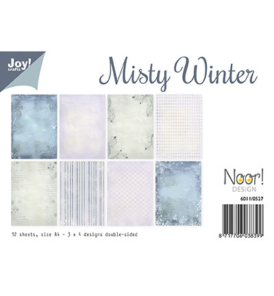 Papierset - Misty Winter