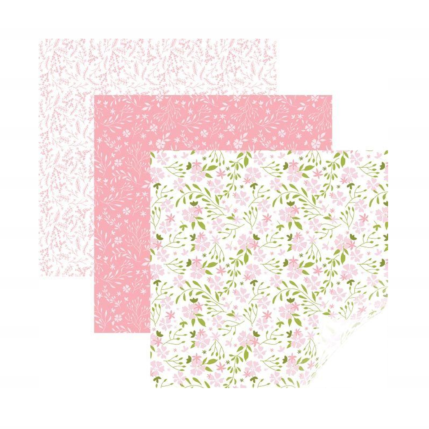 Cricut - StrongBond - Patterned Iron-On -In Bloom Pink Sampler