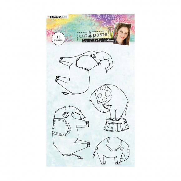 Studio Light  Clear stamp A6 Shirley Cohen nr. 02