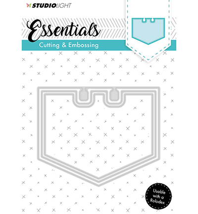 Essentials Embossing Die Cut Stencil Nr122